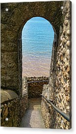 Acrylic Print featuring the photograph Sea View Arch by Scott Carruthers