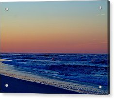 Acrylic Print featuring the photograph Sea View by  Newwwman