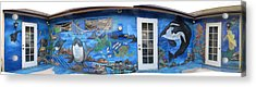 Sea Wall Acrylic Print by Mikki Alhart