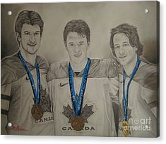 Seabrook Toews Keith Gold Medal Acrylic Print by Brian Schuster