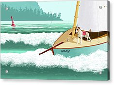 Seadog Acrylic Print