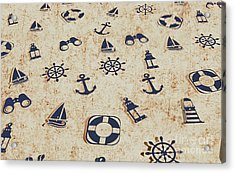 Seafaring Antiques Acrylic Print