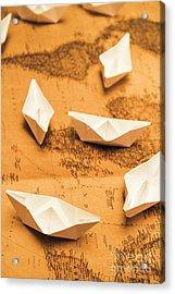 Seafaring The Seven Seas Acrylic Print
