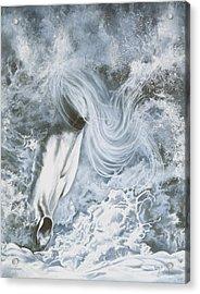 Seafoam Acrylic Print