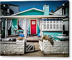 Acrylic Print featuring the photograph Seafoam Shanty by T Brian Jones