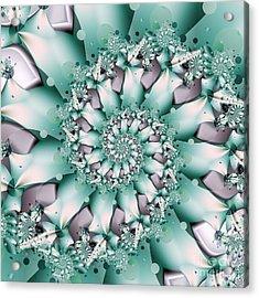 Seafoam Spring Acrylic Print