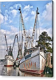 Seafood Searchers Acrylic Print