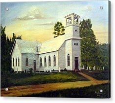 Seaford Zion Methodist Church Acrylic Print
