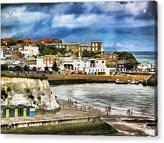 Seafront Broadstairs Kent Acrylic Print