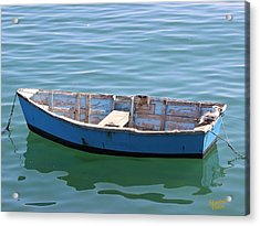 Seagull's Boat Acrylic Print