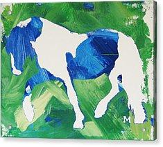 Seahawks Horse Acrylic Print