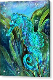 Seahorse 2 - Spirit Of Contentment Acrylic Print