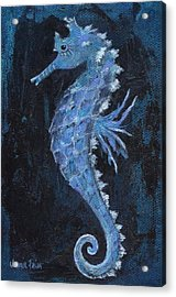 Acrylic Print featuring the painting Seahorse by Jamie Frier