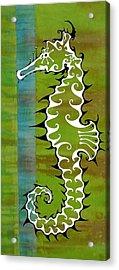 Seahorse Acrylic Print by John Benko
