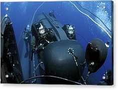 Seal Delivery Vehicle Team Members Acrylic Print by Stocktrek Images