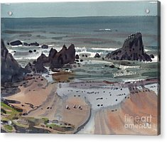Seal Rock Oregon Acrylic Print