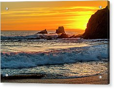 Seal Rock Sunset Acrylic Print
