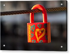 Sealed Love Acrylic Print