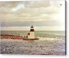 Seamans Light Acrylic Print by JAMART Photography