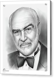 Sean Connery Acrylic Print