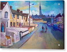Sean Hueston Place Limerick Ireland Acrylic Print