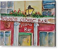 Seans Irish Pub Acrylic Print