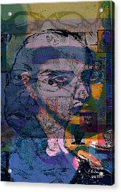 Search Acrylic Print by Noredin Morgan