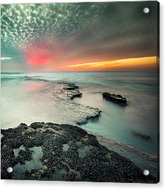 Searchlight Sunset Acrylic Print
