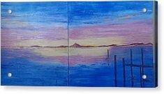 Seascape 7 Acrylic Print by Judi Goodwin