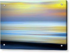 Seascape Abstract Acrylic Print