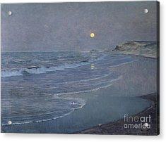 Seascape Acrylic Print by Alexander Harrison