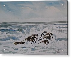 Seascape Ester Lee Acrylic Print by Lynne Haines