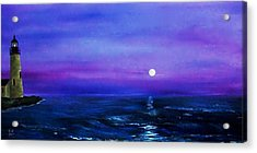 Seascape II Acrylic Print by Tony Rodriguez