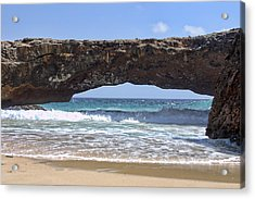 Seascape Land Bridge Acrylic Print
