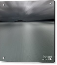 Acrylic Print featuring the photograph Seascape Mono by Craig B