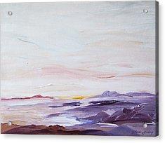 Seascape Nr 1 Acrylic Print by Carola Ann-Margret Forsberg