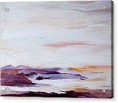 Seascape Nr 2 Acrylic Print by Carola Ann-Margret Forsberg
