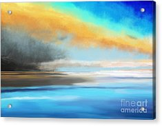 Seascape Painting Acrylic Print