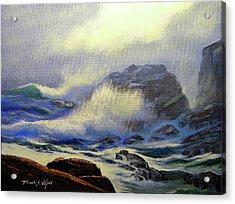 Seascape Study 8 Acrylic Print by Frank Wilson