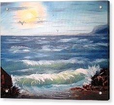 Seascape Study Acrylic Print