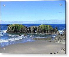Seascape Supreme Acrylic Print by Will Borden