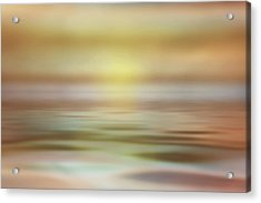 Seascape Acrylic Print by Tom Mc Nemar