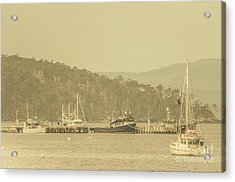 Seascapes Of Old Acrylic Print
