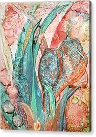Seashell Flower - Organica Acrylic Print