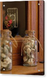 Acrylic Print featuring the photograph Seashells by Jeremy Lavender Photography
