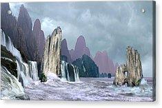 Seashore 1 Acrylic Print by Valeriy Mavlo