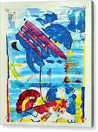 Seashore Holiday Acrylic Print