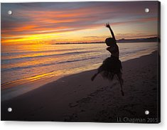 Seaside Dancer Acrylic Print