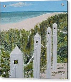 Seaside II Acrylic Print by John Terry