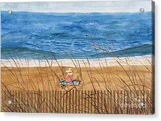 Seaside In Massachusetts Acrylic Print